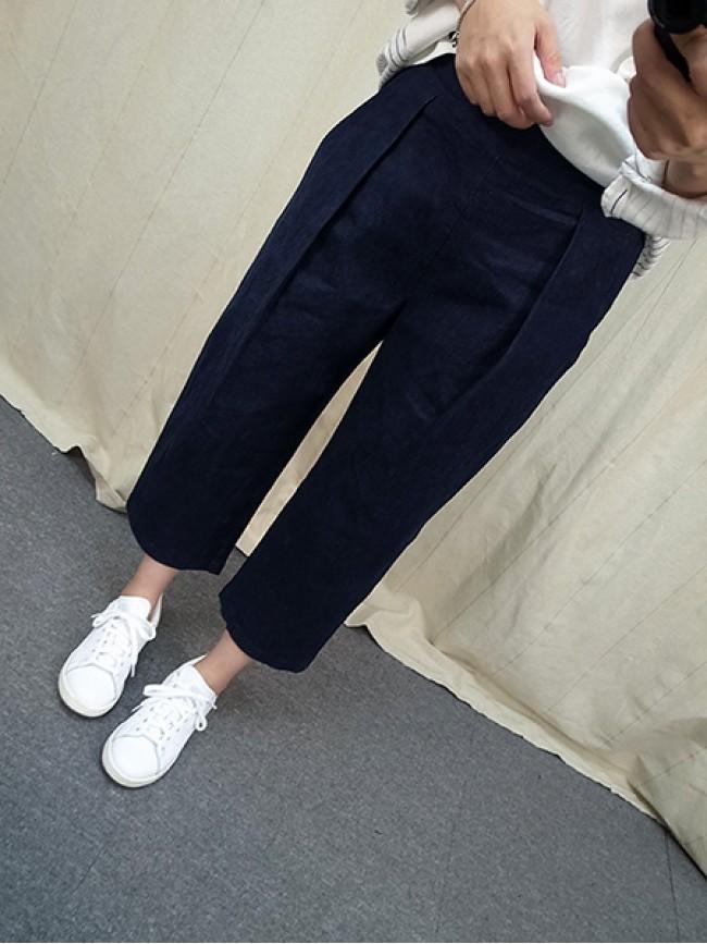 ︱自訂款︱時尚必備牛仔寬褲