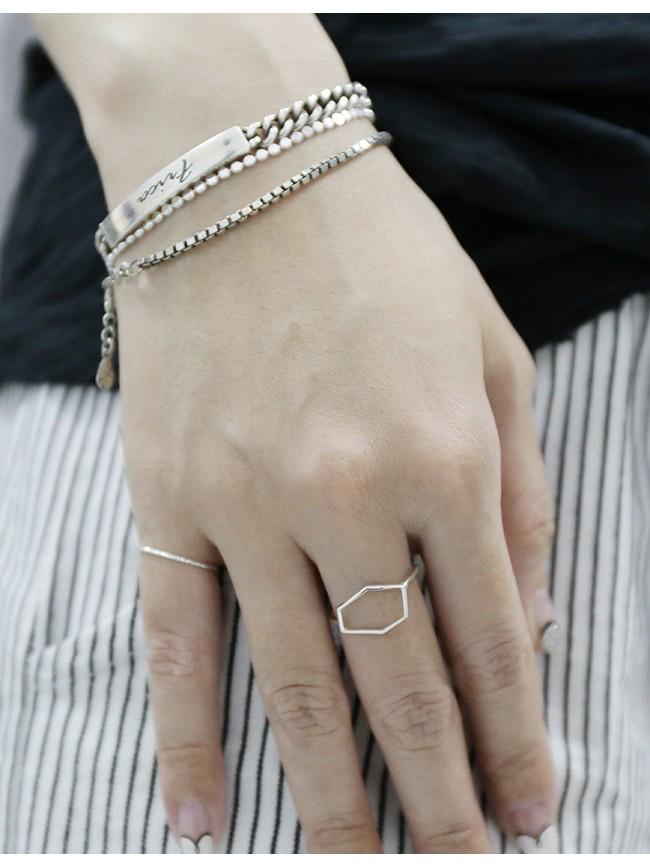 【網路限定】幾何簡約戒指