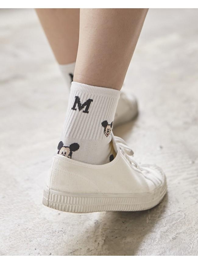 可愛米奇造型襪