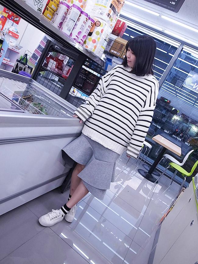 太空棉挺版魚尾裙