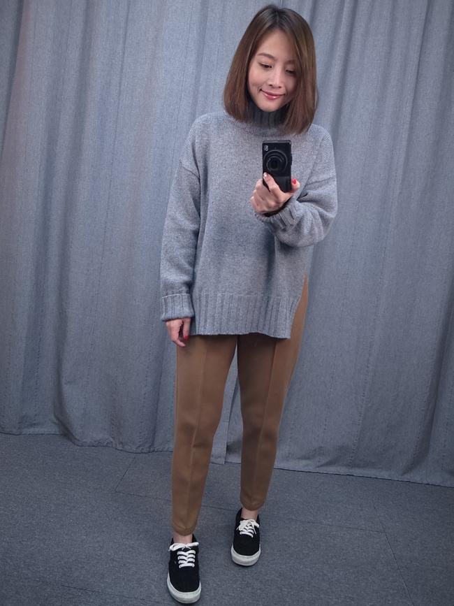 花苞褲頭微正式棉褲