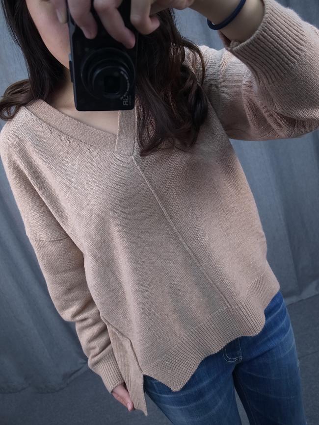 V領氣質款針織衫
