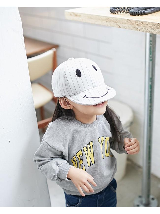微笑造型棒球帽