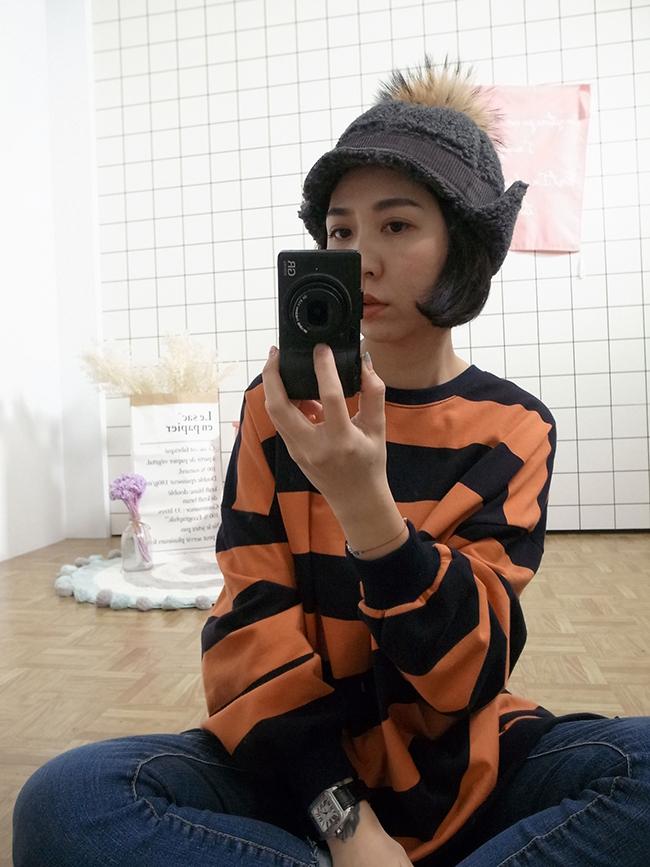 QQ毛可愛飛行帽