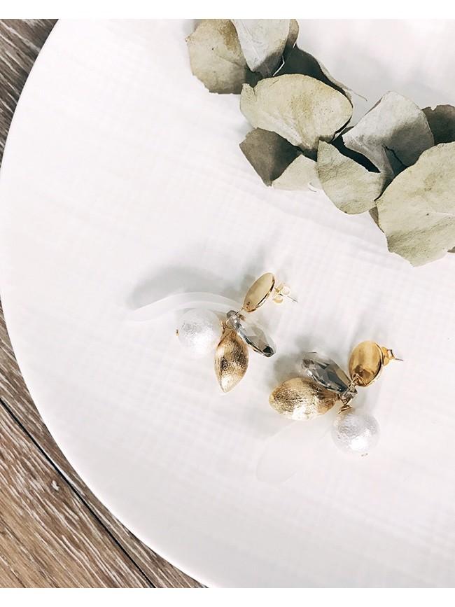 古典優雅串珠耳環