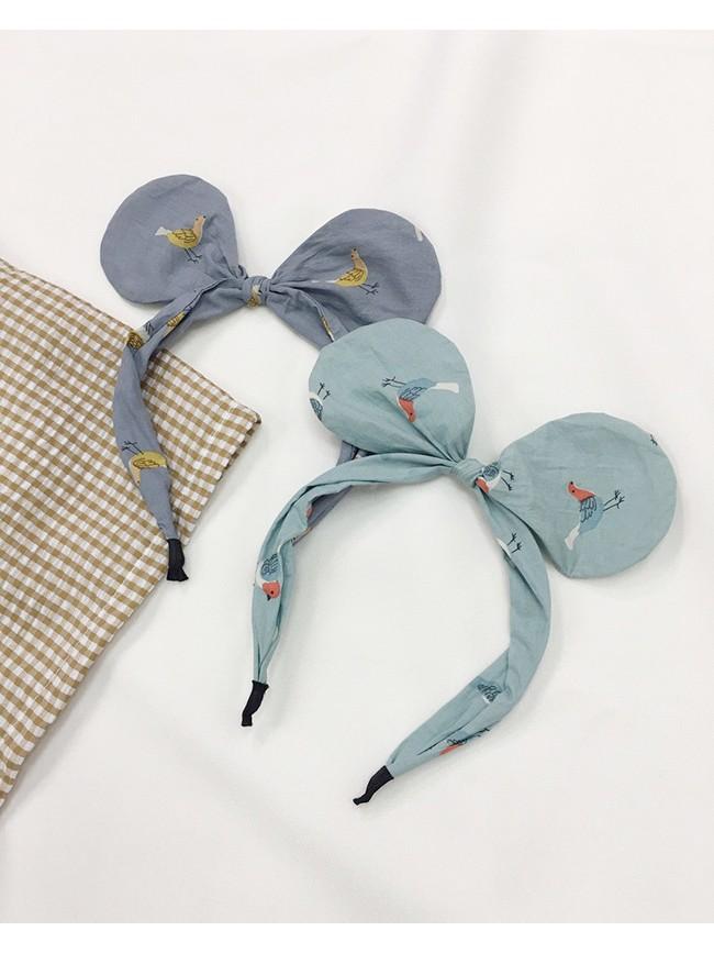 手繪風老鼠耳髮箍
