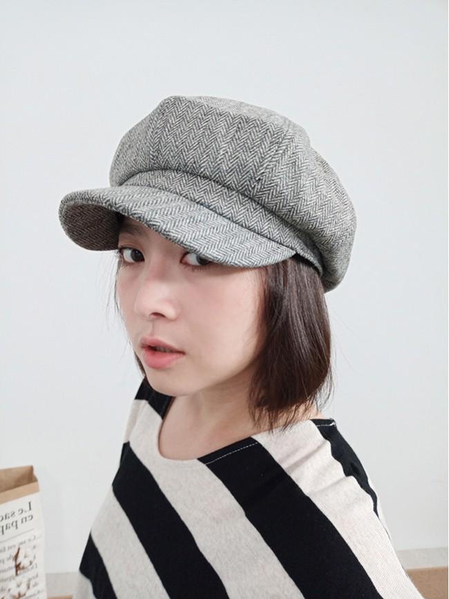 秋冬系報童帽