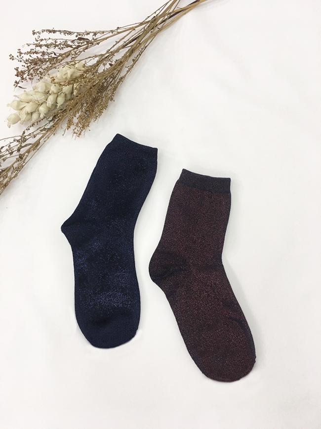 金蔥亮晶晶高筒襪