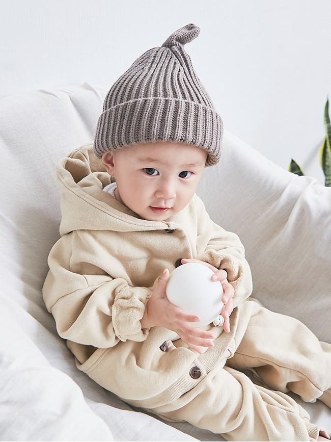 天線寶寶針織毛帽