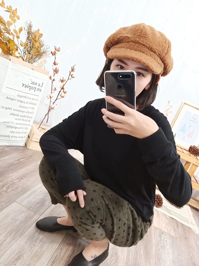 QQ毛報童帽