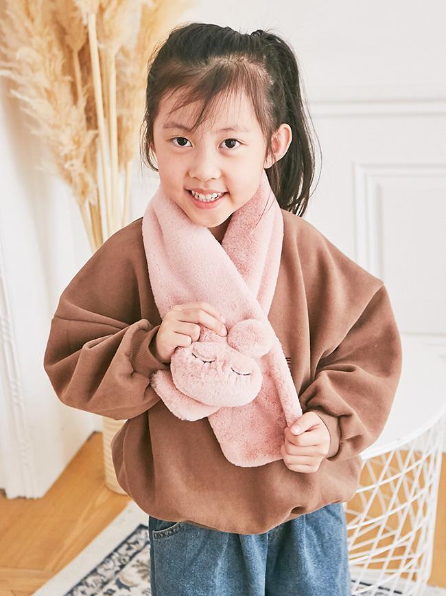 立體大兔兔圍巾
