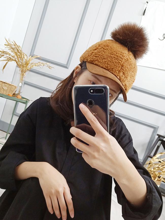 QQ毛球球帽