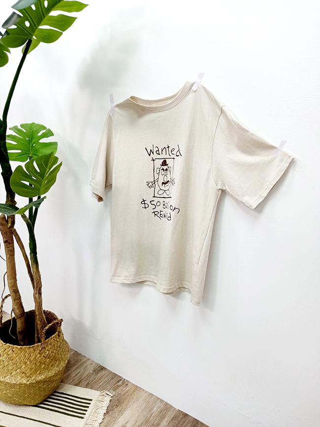 囚犯蛋頭T恤
