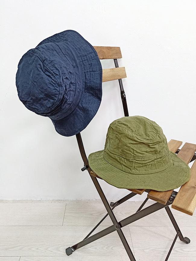 皺褶感漁夫帽