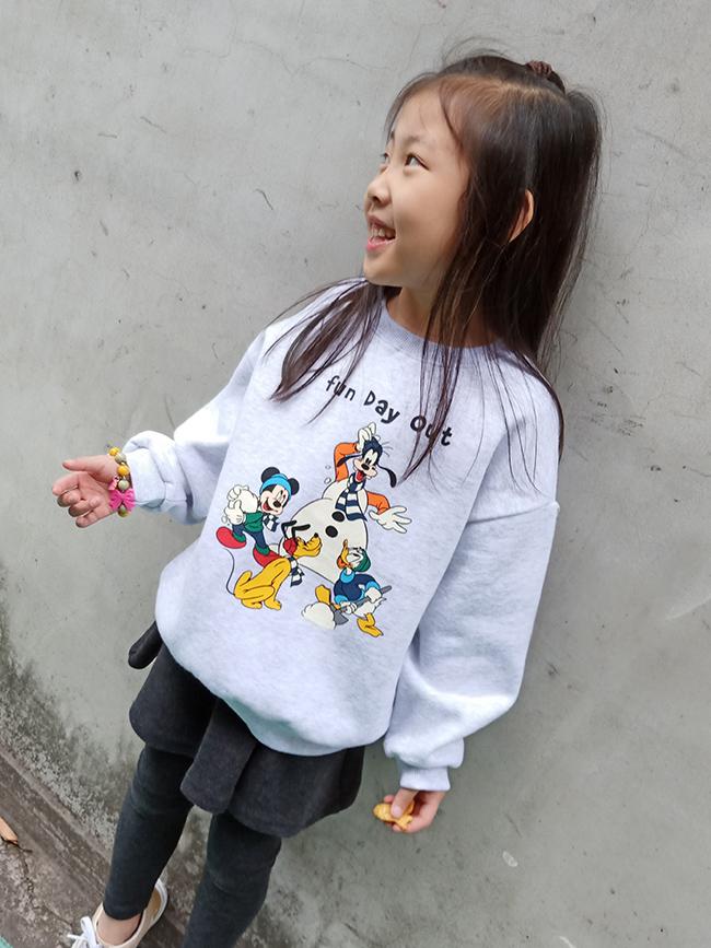 迪士尼家族刷毛T