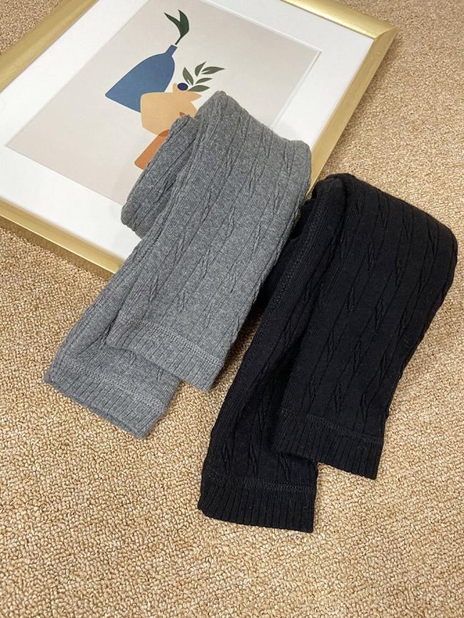 內舖毛針織內搭褲