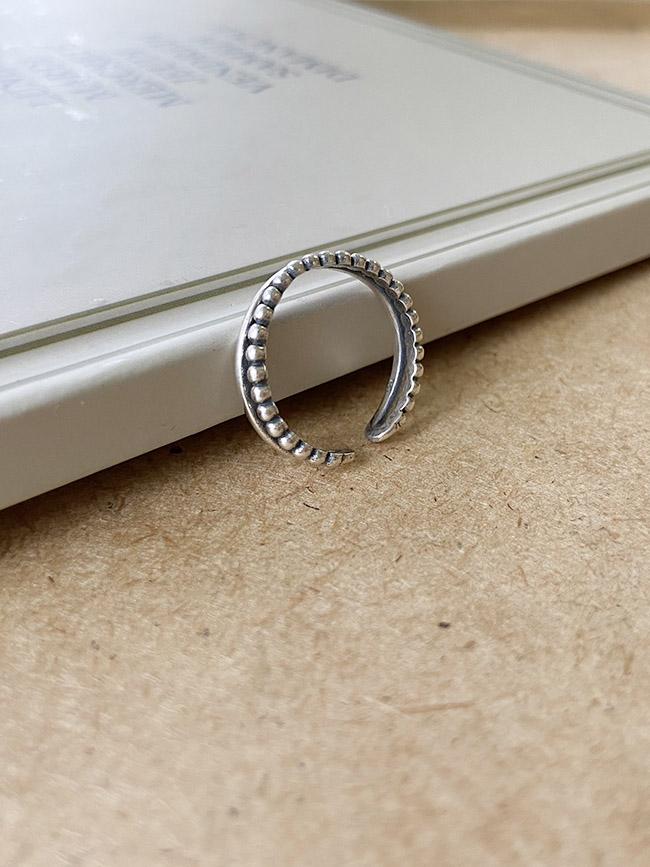 簡單雙層造型戒指