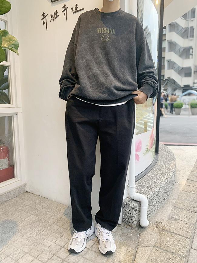 紳士感休閒西裝褲