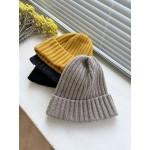 基本款羊毛反褶毛帽