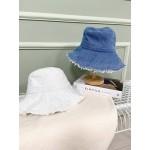 藍色系抽鬚漁夫帽