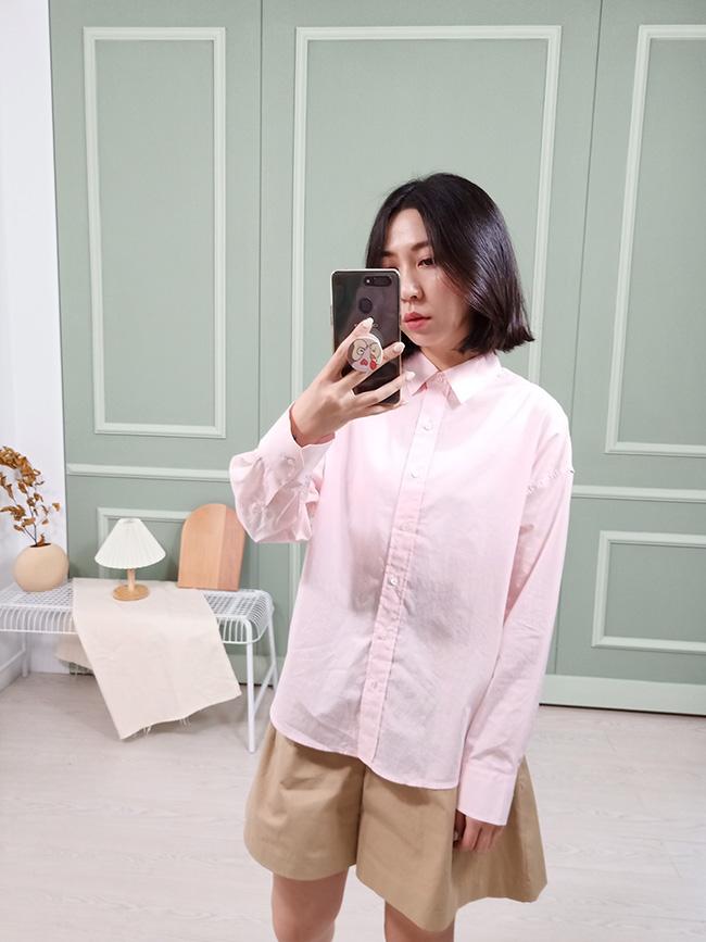 柔和色舒服襯衫